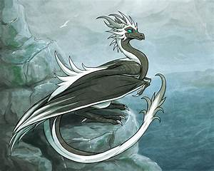 Seaside Wyvern by squeedgemonster on DeviantArt