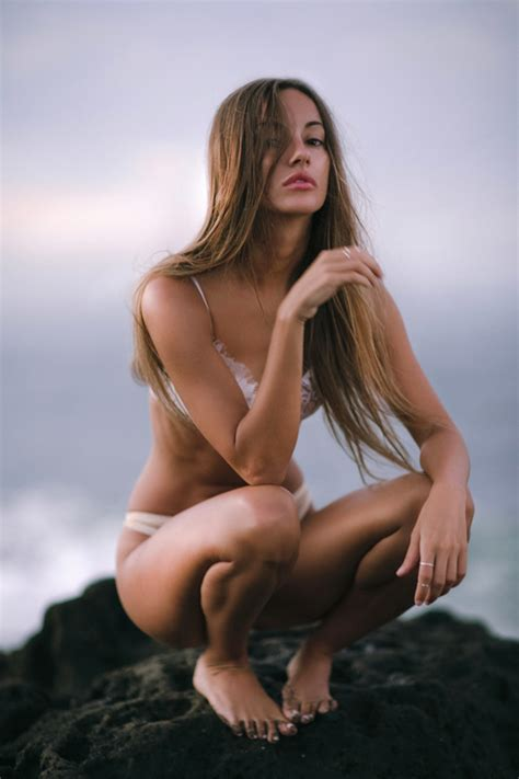 Sexyfemalemodelinbikini Image Free Stock Photo