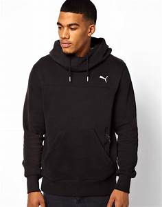 Puma Hoodie in Black for Men | Lyst