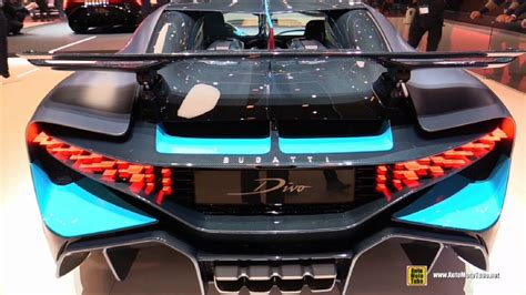 The sheet gradually revealed mat grey bodywork underneath, rippling with sharp angles and gaping inlets. 2019 Bugatti Divo at 2019 Geneva Motor Show