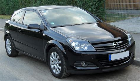 Opel Astra 2007 by 2007 Opel Astra H Gtc Pictures Information And Specs
