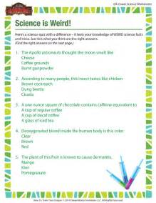 6th Grade Science Printable Worksheets