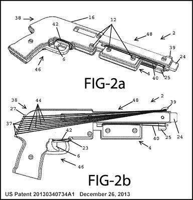 printable gun rack template printable rubber band gun plans images