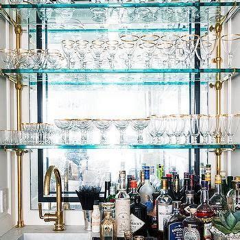 blue bar shelves design decor  pictures ideas