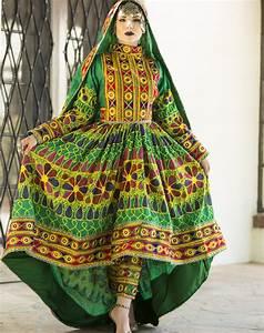 Zamarut Qalin Baaf Afghan Dress