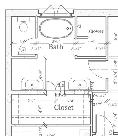 MASTER BATHROOM FLOORPLANS ? Find house plans