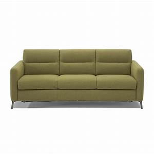 Natuzzi editions zonna large sofa bed for Wide sofa bed