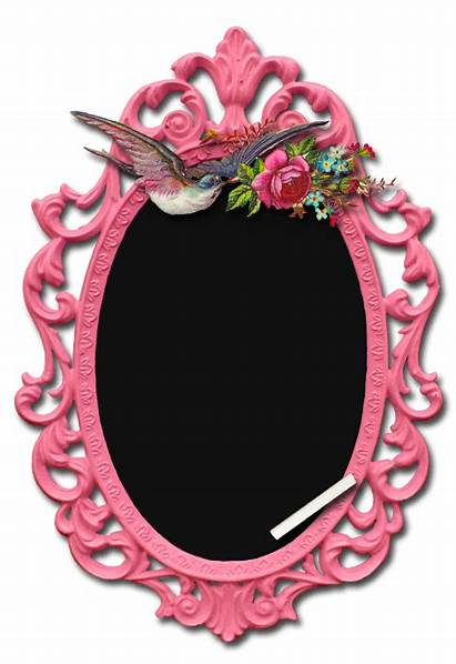 Pink Chalkboard Frames Frame Clipart Things Pretty