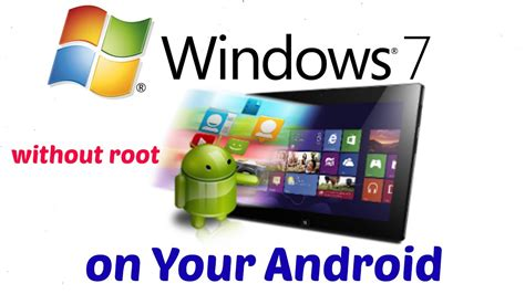 how to install windows 7 on your android without root by your mobile guruji in