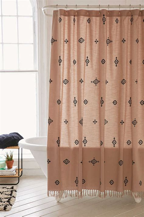 bohemian style shower curtains hgtvs decorating