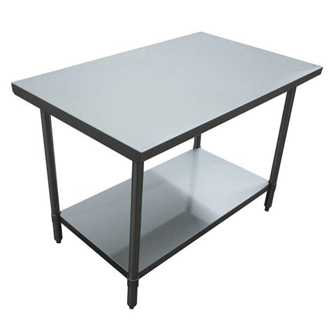 kitchen utility table excalibur stainless steel kitchen utility table