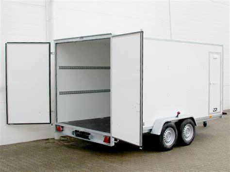 pkw kofferanhänger gebraucht pkw anh 228 nger koffer 200x400cm h 246 he190cm 2 7t 100kmh seitent 252 r pkw1523so gebraucht 5190 eur