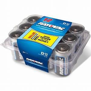 Batterie 1 5 Volt : rayovac high energy alkaline d 1 5 volt battery 12 pack ~ Jslefanu.com Haus und Dekorationen
