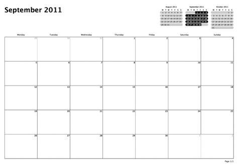 print blank monthly calendar  outlook  calendar
