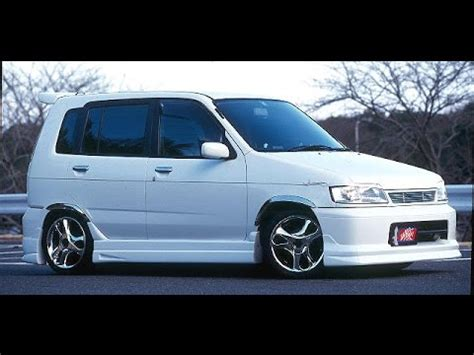 stanced nissan cube nissan cube z10 0 100 km h youtube