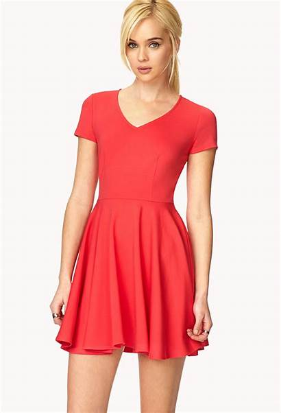 Flare Forever Pink Iconic Coral Dresses Lyst