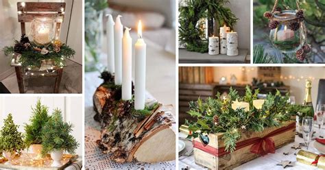 lovely nature inspired christmas decorations decor