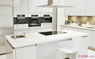 Kitchen Furniture Ideas Small Kitchen With Modern White Furniture Home Design And Ideas