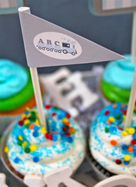 abc themed 1st birthday party spaceships and laser beams all aboard alphabet themed boy s 1st birthday