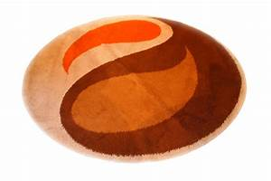tapis rond orange 3 idees de decoration interieure With tapis rond orange