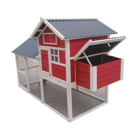 facade porte cuisine lifland poulailler house 2 avec toit pvc blanc corail