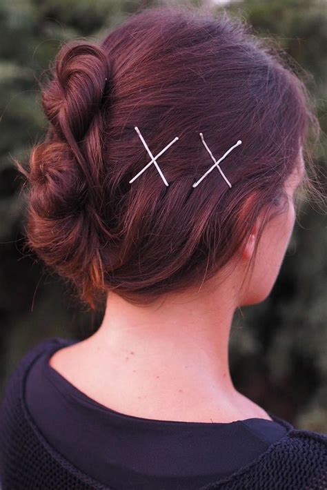 18 Bobby Pin Ideas to Compliment the Style Bobby pin