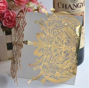 aliexpresscom buy china fancy laser cut wedding With laser cut wedding invitations online india