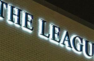 backlit halo lit letters letters logos gemini With backlit sign letters