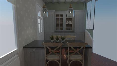 cuisiniste dieppe cuisine cottage anglais bois massif cuisiniste dieppe