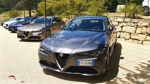 Essai Alfa Romeo Giulia : alfa romeo giulia est elle aussi efficace qu attractive essai les voitures ~ Medecine-chirurgie-esthetiques.com Avis de Voitures