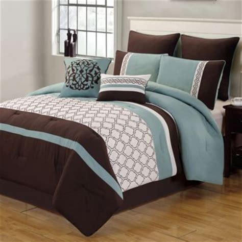comforter sets blue and brown buy brown and blue comforter sets from bed bath beyond