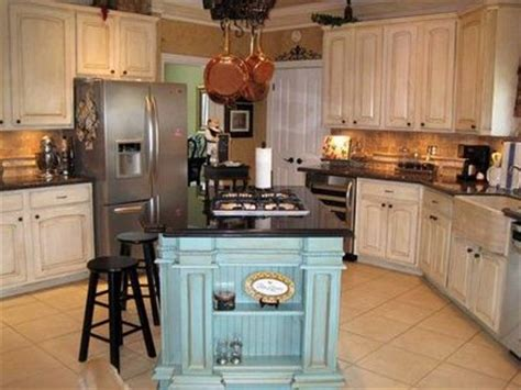 kitchens with different colored islands island different color for my kitchen juxtapost