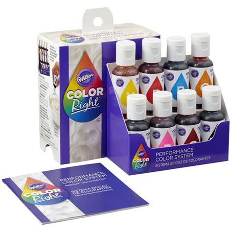 Wilton Cake Decorating Classes by Color Right Food Coloring System Wilton
