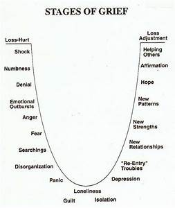 The Stages of Grief Are Exactly Like The Stages of Divorce  Hanssie