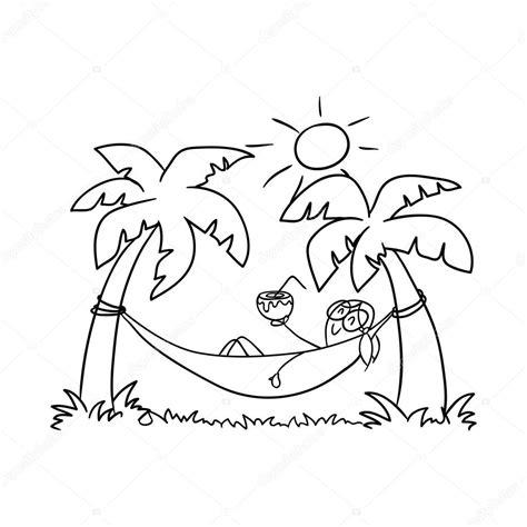 un amaca ragazza in un amaca doodle vettoriali stock 169 balakoboz