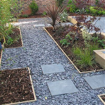 blue slate mm outdoors gravel garden slate garden