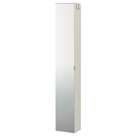 Ikea Bathroom Mirrors With Storage by Lill 197 Ngen High Cabinet With Mirror Door White 30x21x179 Cm