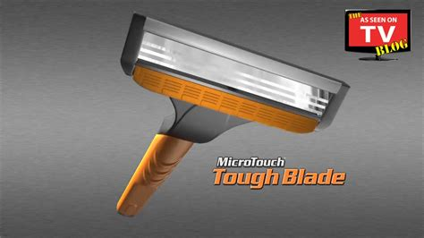 Microtouch Tough Blade As Seen On Tv Commercial Buy