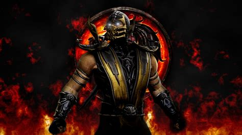 images  scorpion  mortal kombat  wallpaper hd