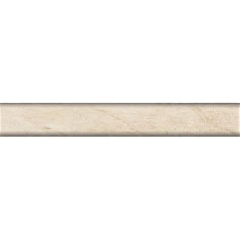 porcelanosa botticino 1 in x 8 in ceramic quarter trim tile discontinued