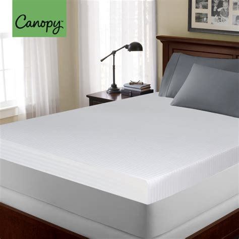 topper canap canopy 4 quot memory foam mattress topper other home