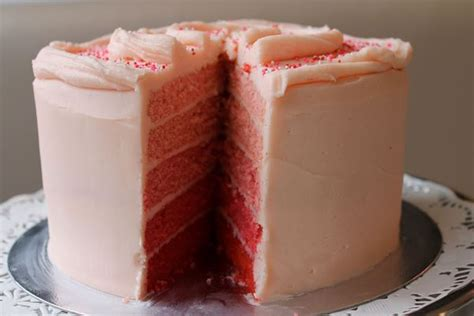 ombre layer cake