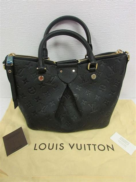 louis vuitton black mazarine pm embossed monogram