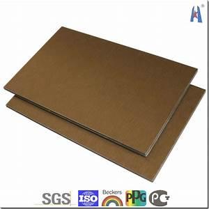 Panneau Composite Aluminium : panneau alu composite great panneau composite en alliage ~ Edinachiropracticcenter.com Idées de Décoration