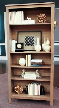 bookshelf decorating ideas How to Style a Bookcase - Steven and Chris