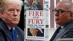 Fire and Fury author: Trump is 'beyond reason and control'