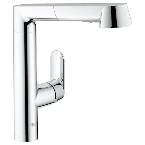 grohe kitchen faucets reviews grohe k7 single handle pull out kitchen faucet in