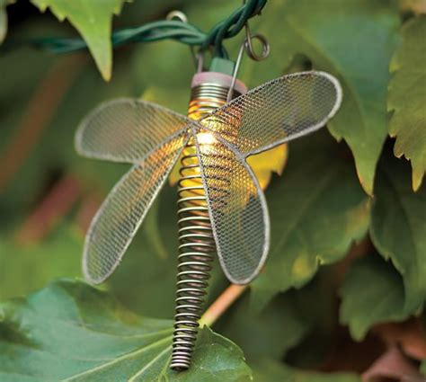 dragonfly outdoor string lights wire dragonfly string lights pottery barn