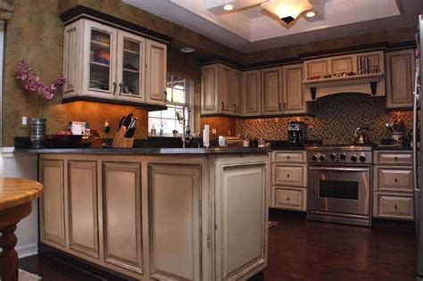Cabinet Makeovers by 9 Images Rustic Painted Kitchen Cabinet Ideas Rustic
