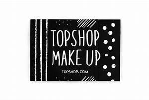 Topshop Make Up Catalog on Student Show